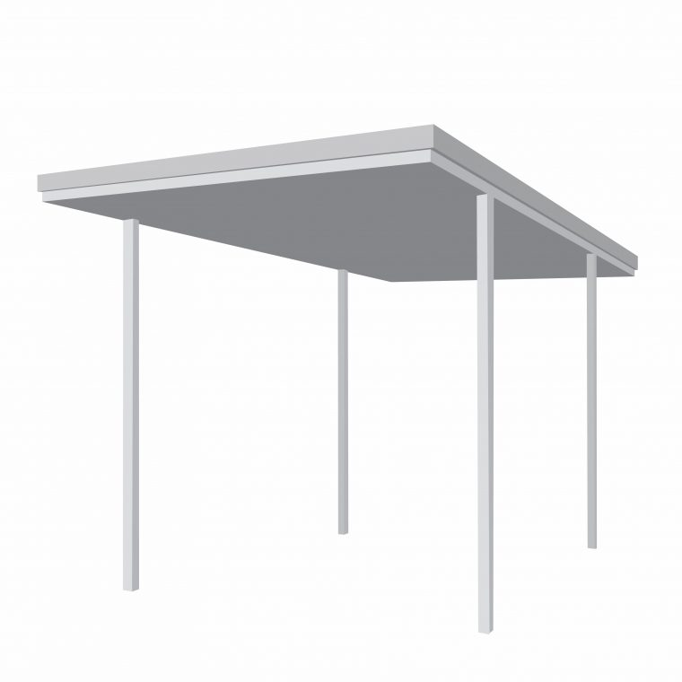 3 x 6 Skillion Carport Kit