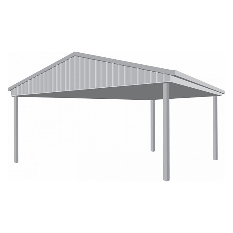 6 x 6 Gable Carport